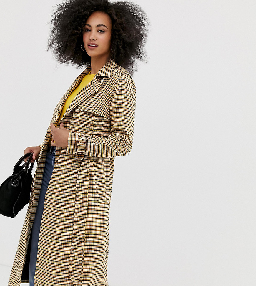 Jones New York Faux-Fur-Trim Knit-Side Quilted Down Coat Olive M $300 #10-24