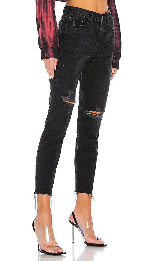 Blue Just Cavalli Ripped Distressed Jeans with Snake Stitched Back Pockets $518-Now $198